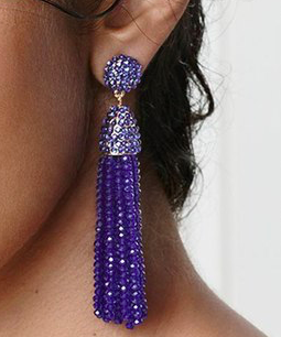 BaubleBar 'Nynette' Tassel Drop Earrings