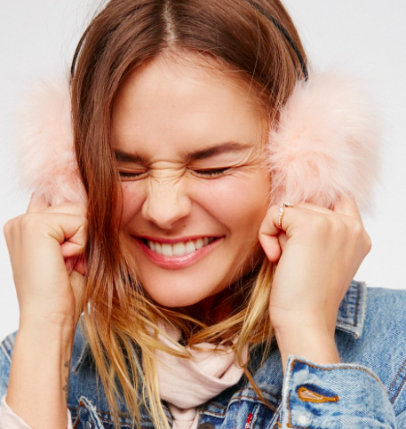 Alpine Faux Fur Earmuffs