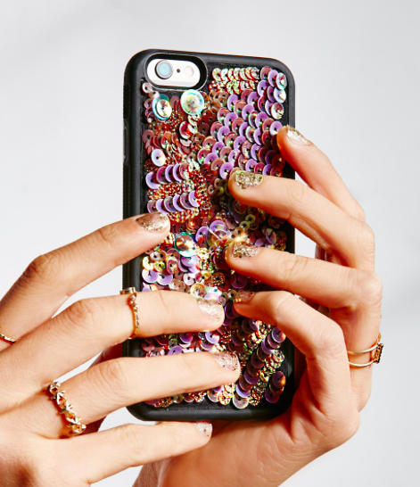 FP Mermaid Sequin iPhone Case