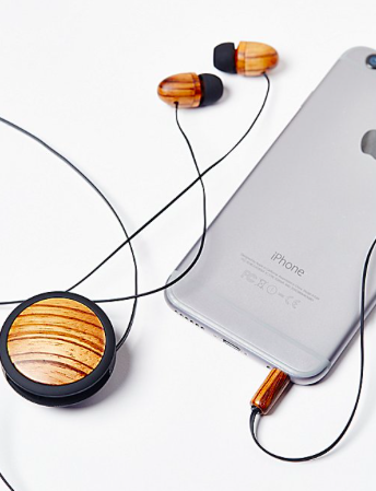 FP Retractable Wood Ear Buds