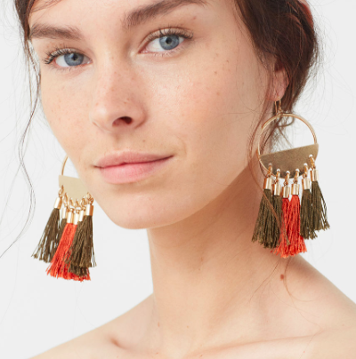 Mango Tassel earrings