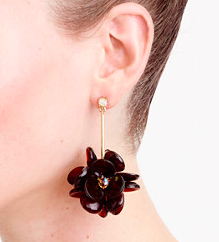 JCREW CLUSTER DROP EARRINGS