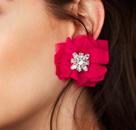 BAUBLE BAR PAION SOFT FLORAL STUDS