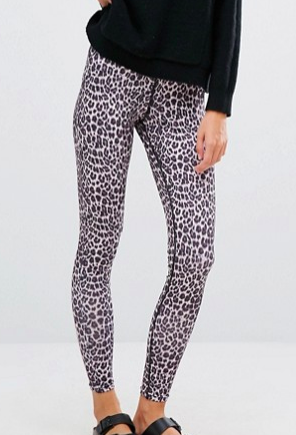 Y.A.S Lounge Leopard Print Legging