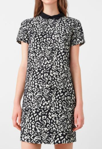 Mango Animal pattern dress