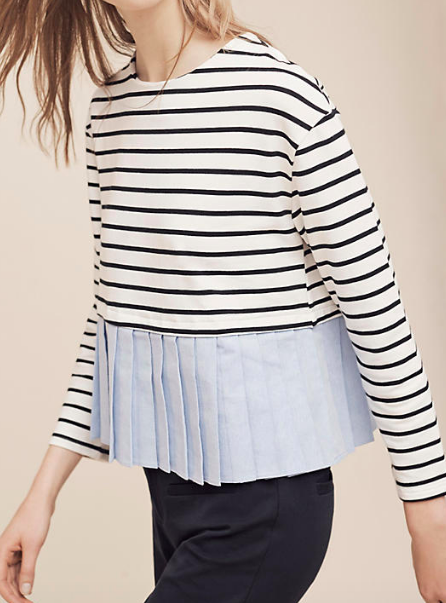 Anthropologie Wylie Striped Top
