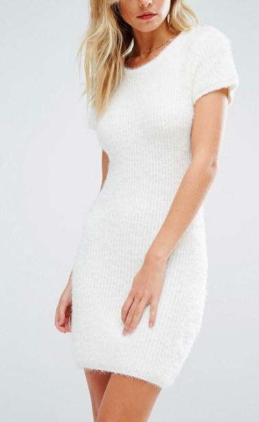 Majorelle Daisy Dress in Ivory