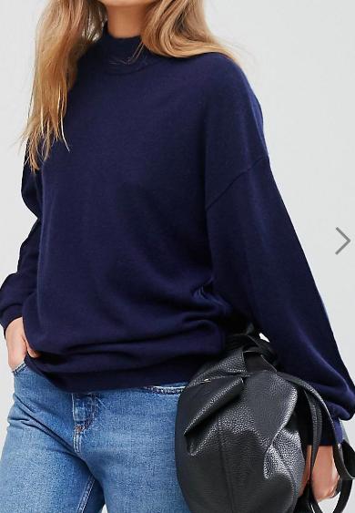 Warehouse Cashmere Boxy Sweater