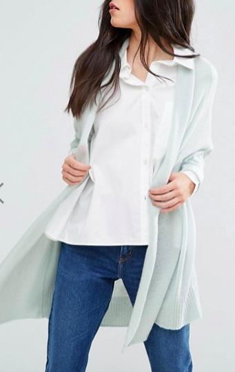 Subtle Luxury Cashmere Cocoon Shawl Jacket