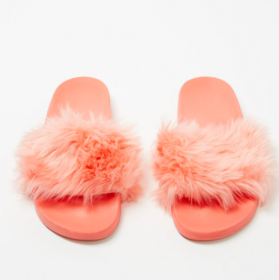 Boudoir Slide Sandal