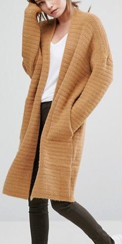 Oasis Premium Ribbed Cardigan