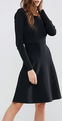 Y.A.S Dorota Boatneck Knit Dress