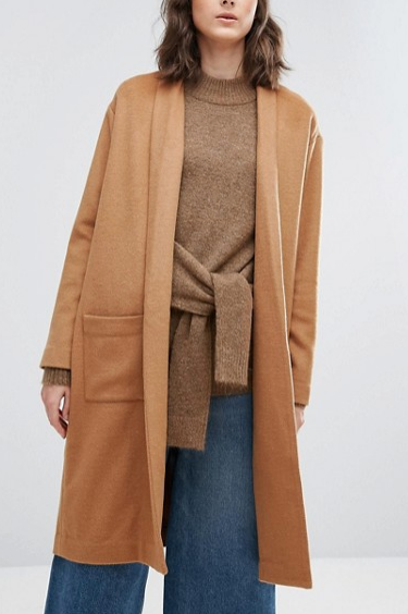 Weekday Thrown On Knit Coat