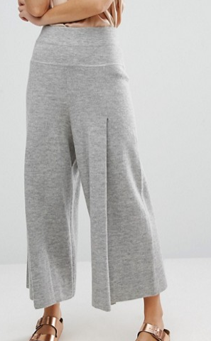 Les 100 Ciels Merino Wool Knitted Culottes
