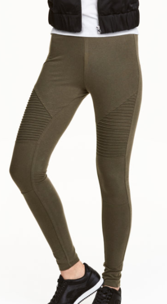 HM Jersey Biker Leggings