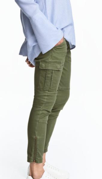 HM cargo pants