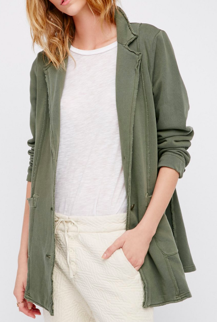 FP Effortless Knit Jacket