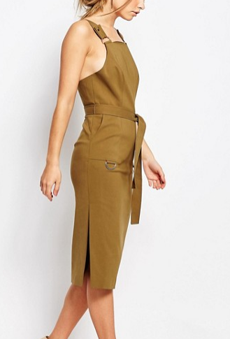 C/meo Collective Khaki Utility Dress