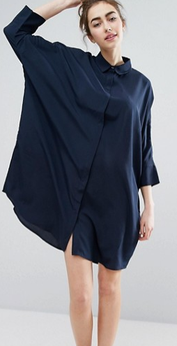 Monki Relaxed Shirt Dress