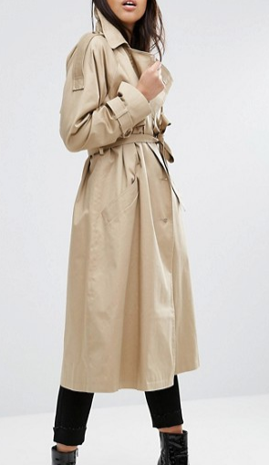 ASOS Trench with Oversized Styling
