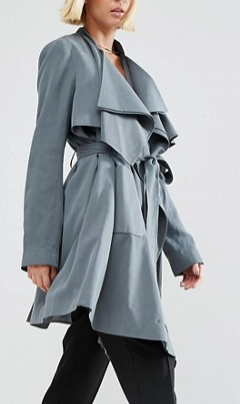 ASOS Waterfall Trench