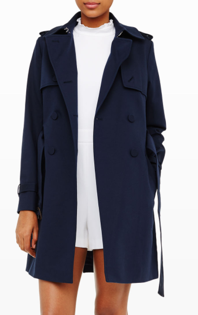 CLUB MONACO Farzin Trench Coat