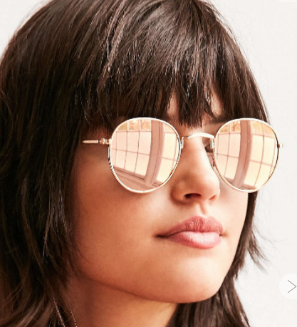 UO Round Metal Sunglasses