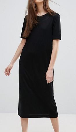 Weekday Midi T Shirt Dress