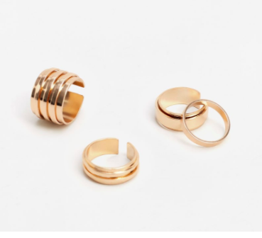 Mango metal ring set