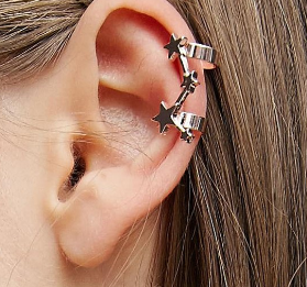 ASOS Pack of 3 Star Ear Cuffs