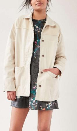 BDG Allison Oversized Workwear Jacket