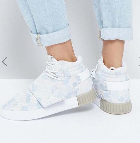 adidas Originals Pastel Camo Tubular Doom Sneakers