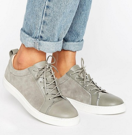 Whistles Suede Leather Kenley Sneaker