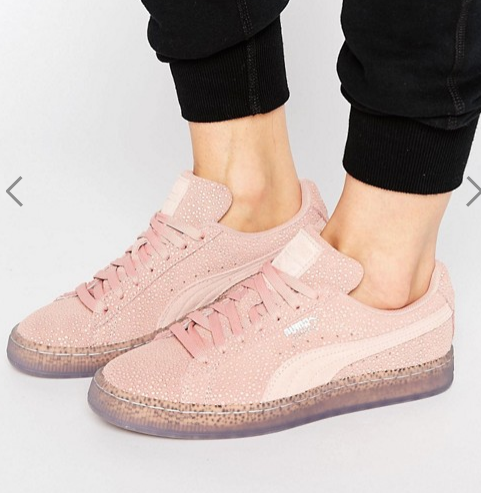 Puma Suede Classic Sneakers In Pink