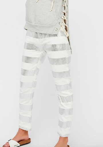 SCOTCH AND SODA Seasonal Foil Boyfriend Jeans