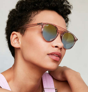 Ray-Ban High Street Round Bridge Sunglasses