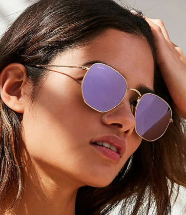 Ray-Ban Oversized Hexagonal Sunglasses