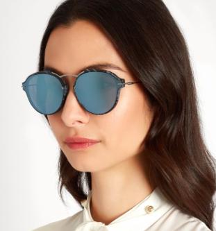 DIOR  Eclat mirrored sunglasses