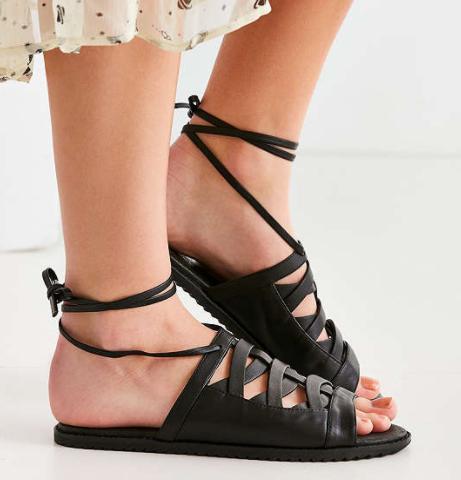 Intentionally Blank Hexagon Sandal