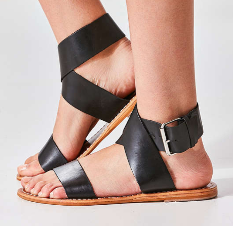 Kirstie Leather Sandal