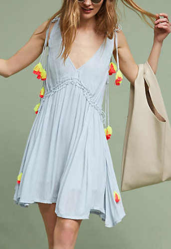 Sundress Brooke Tasseled Cover-Up