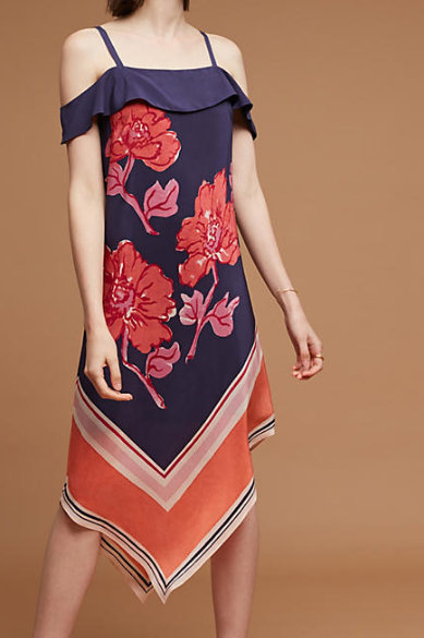 Anthropologie Tilda Silk Dress
