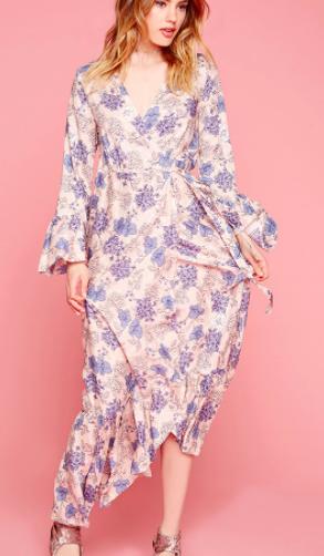 Forever 21 Selfie Leslie Floral Maxi Dress