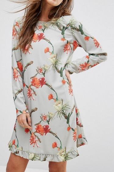Y.A.S Printed Floral Dress