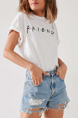 UO Friends Logo Tee
