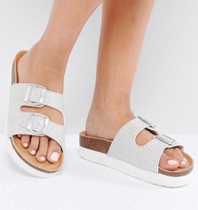 Miss KG Lacie Double Buckle Flatform Sandal