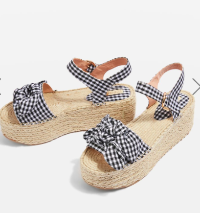 Topshop WENDY Bow Wedges