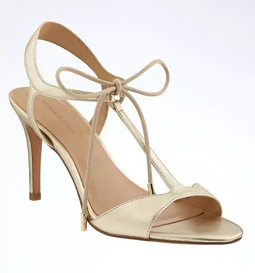Banana Republic T-Strap High Heel Sandal