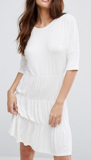 Boohoo 3 Panel Smock Dress