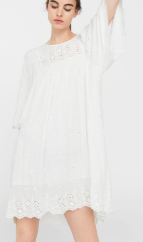 Mango Embroidery bead dress